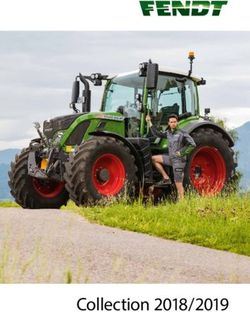 FENDT - Collection 2018/2019