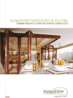 HOMEVIEW Windows & Doors Timber Product Specification Catalogue