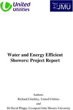 Water and Energy Efficient Showers: Project Report