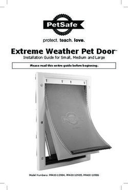 Extreme Weather Pet Door - Installation Guide for Small, Medium and Large