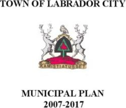 TOWN OF LABRADOR CITY