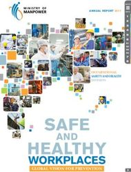 SAFE HEALTHY - WORKPLACES