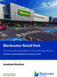 Blackwater Retail Park - Income producing property investment opportunity ...