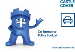 Car Insurance Policy Booklet
