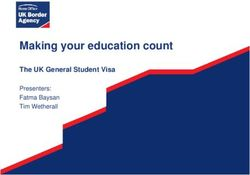 Making your education count The UK General Student Visa