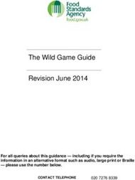 The Wild Game Guide Revision June 2014