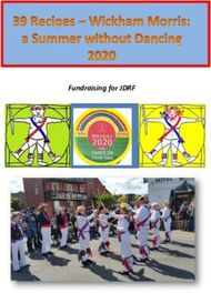 Fundraising for JDRF - Wickham Morris