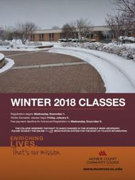 WINTER 2018 CLASSES