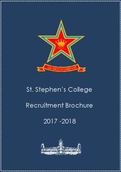 St. Stephen's College Recruitment Brochure 2017 - 2018
