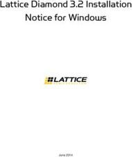 Lattice Diamond 3.2 Installation Notice for Windows