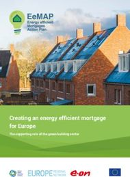 Creating an energy efficient mortgage for Europe