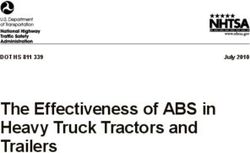 The Effectiveness of ABS in Heavy Truck Tractors and Trailers