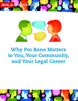Why Pro Bono Matters to You, Your Community, and Your Legal Career