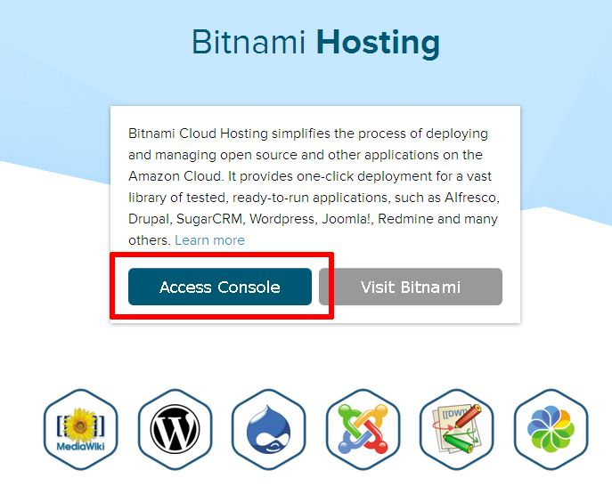 Host your Application in the Amazon Cloud with XAMPP and Bitnami