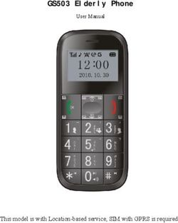 GS503 Elderly Phone This model is with Location-based service, SIM with GPRS is required