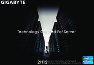 Gigabyte 2H12 Server & Workstation Motherboards. Enterprise Server Barebones & Accessories.