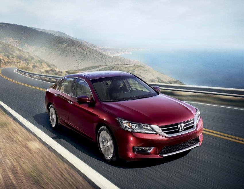 Honda Accord 2013. Brochure.