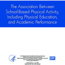 The Association Between School-Based Physical Activity, Including Physical Education, and Academic Performance