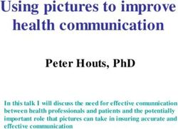 Using pictures to improve health communication