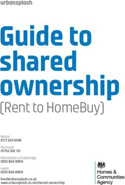 Guide to shared ownership - (Rent to HomeBuy)