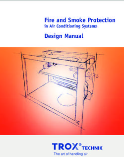 Fire and Smoke Protection Design Manual in Air Conditioning Systems