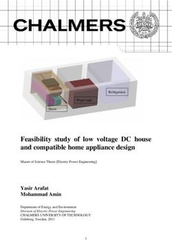 Feasibility study of low voltage DC house and compatible home appliance design