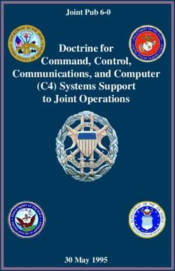 Doctrine for Command, Control, Communications, and Computer (C4) Systems Support to Joint Operations