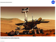The Mars Exploration Rovers: Spirit and Opportunity