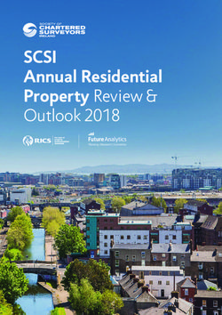 SCSI Annual Residential Property Review & Outlook 2018