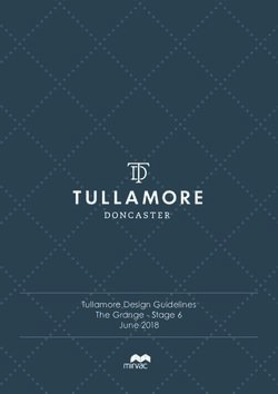 Tullamore Design Guidelines The Grange - Stage 6 June 2018