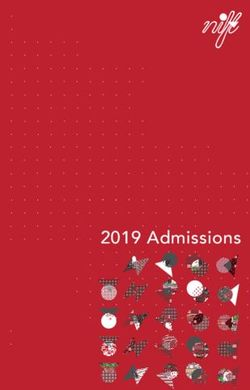 2019 Admissions - NIFT