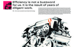 Efficiency is not a buzzword for us. It is the result of years of diligent work.