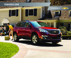 Chevrolet Traverse 2016 Brochure