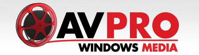 AVPro Windows Media Unity Plugin