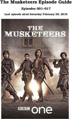 The Musketeers Episode Guide - Episodes 001-017