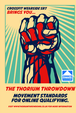 THE THORIUM THROWDOWN MOVEMENT STANDARDS FOR ONLINE QUALIFYING.