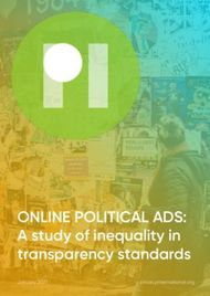 ONLINE POLITICAL ADS: A study of inequality in transparency standards ...