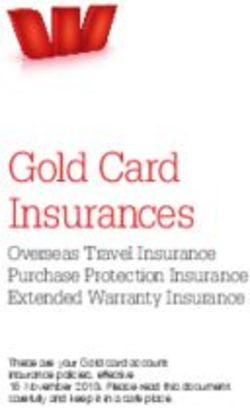 Gold Card Insurances - Overseas Travel Insurance Purchase Protection Insurance Extended Warranty Insurance