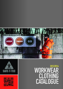 Workwear clothing catalogue 2013/2014
