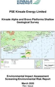 PSE Kinsale Energy Limited Kinsale Alpha and Bravo Platforms Shallow ...
