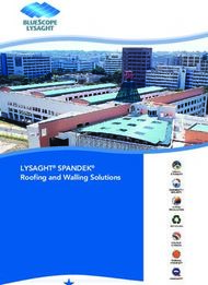 LYSAGHT SPANDEK - Roofing and Walling Solutions