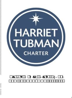FAMILY HANDBOOK 2018-2019 - Harriet Tubman Charter School