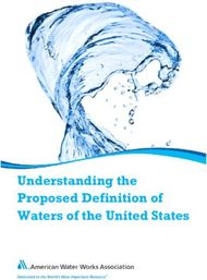 Understanding the Proposed Definition of Waters of the United States