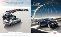 Kia Optima 2016. Brochure.