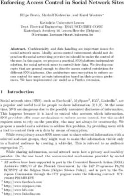 Enforcing Access Control in Social Network Sites