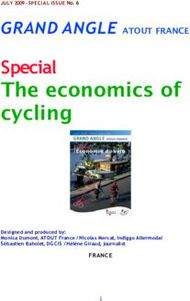 Special - The economics of cycling