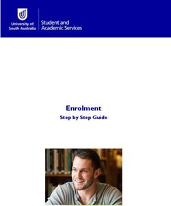 Enrolment Step by Step Guide