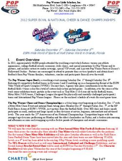 2012 SUPER BOWL & NATIONAL CHEER & DANCE CHAMPIONSHIPS