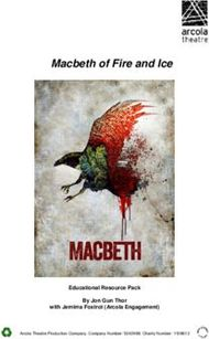 Macbeth of Fire and Ice Educational Resource Pack