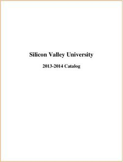 Silicon Valley University 2013-2014 Catalog
